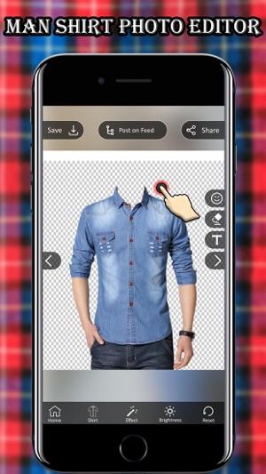 Man Shirt Photo Suit on the App Store