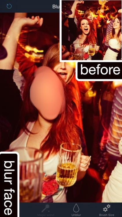 Photo Retouch: touch blur photo background erase.r