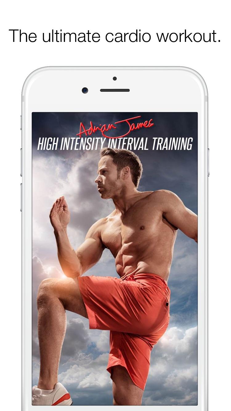 Adrian James High Intensity Interval Training screenshot-0