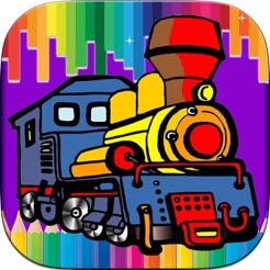 çocuklar Için Boyama Oyunu Train App Storeda