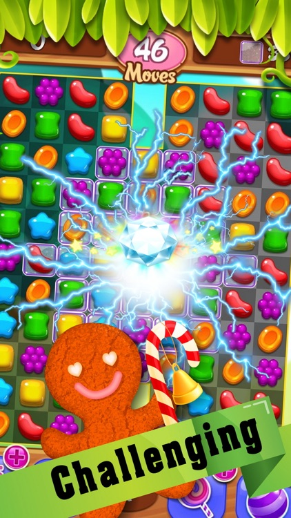 Ginger amazing candy - for gems and jewels theme