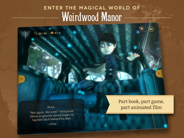 Weirdwood Manor Screenshot