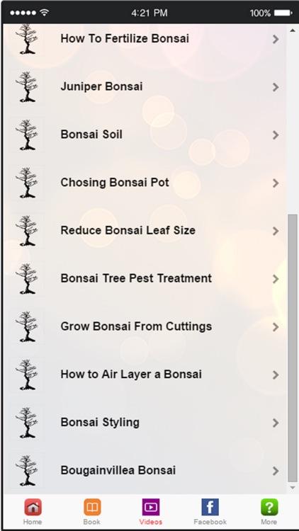 Bonsai Tree - A Guide to Growing Bonsai and Making Bonsai