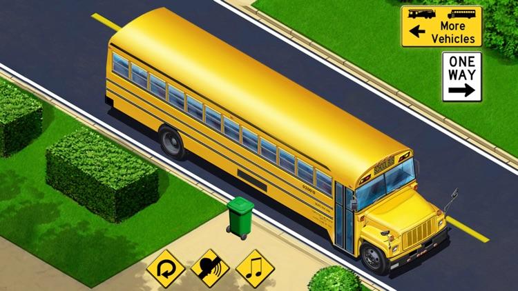 Kids Vehicles: City Trucks & Buses Lite for iPhone screenshot-3