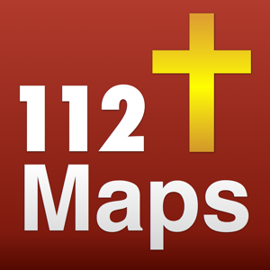 112 Bible Maps with 65 Bible, Commentaries app