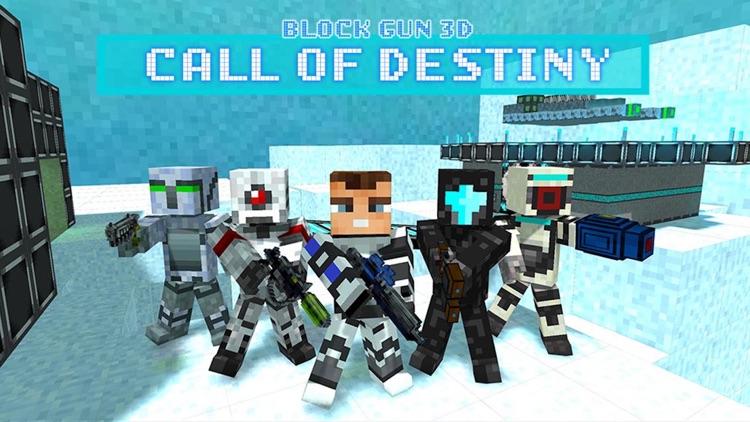 Block Gun 3D: Call of Destiny screenshot-4
