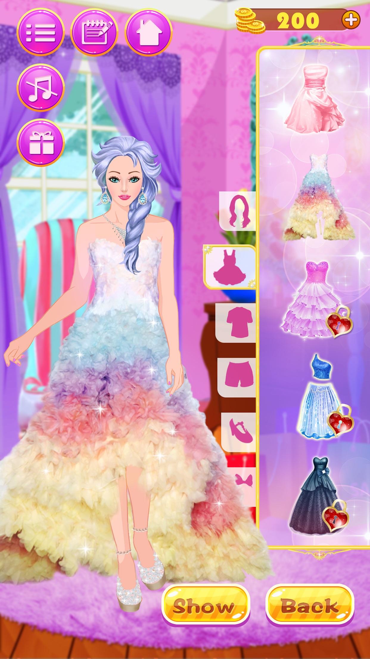Girls Dress Up - games for girls! Screenshot