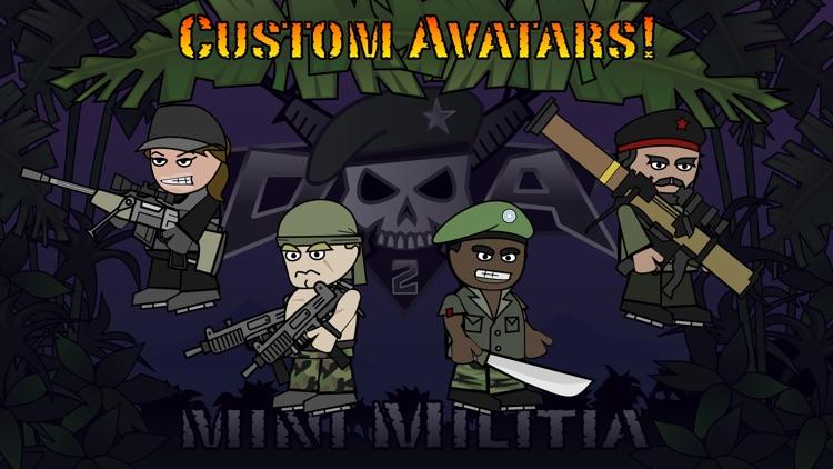 Doodle Army 2 : Mini Militia - Online Multiplayer screenshot-3
