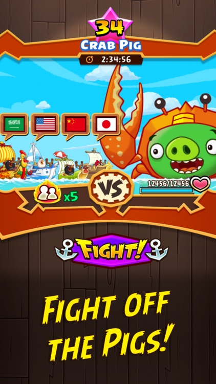 Angry Birds Fight! RPG Puzzle screenshot-4