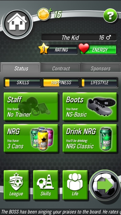 New Star Soccer screenshot-3