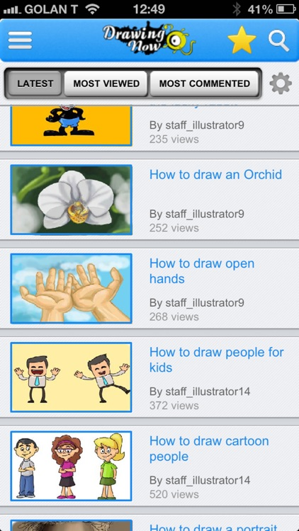 DrawingNow - How to Draw