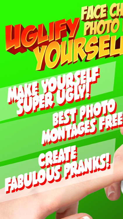 Uglify Yourself - Ugly Face Changer Photo Booth