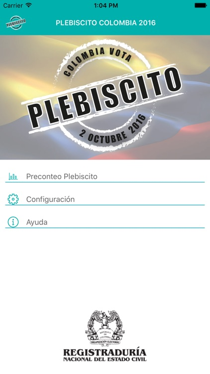 Plebiscito Colombia - 2016