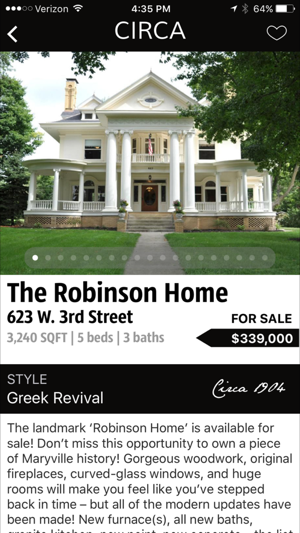 The Old House App By Circa Buy Or Sell An Old House Search