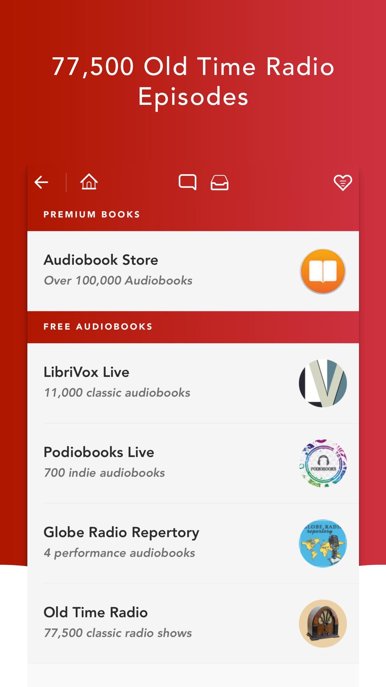 Audiobooks HQ - audio books Screenshot
