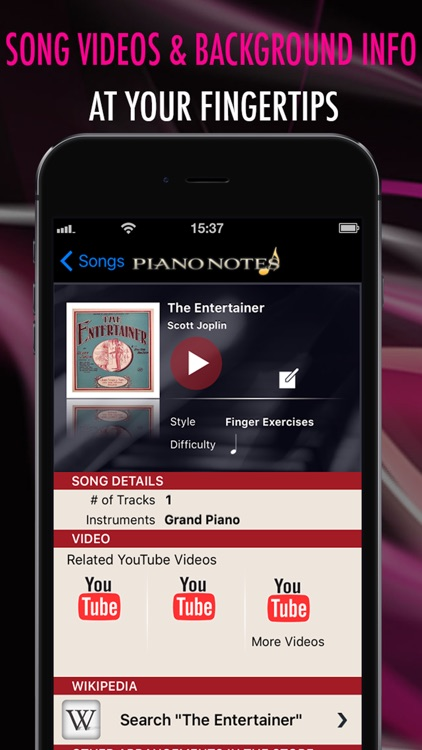 Pocket Jamz Piano Notes - Interactive Piano Songs, Scores, and Sheet Music