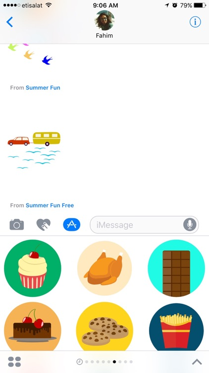 Food Stickers (Free)
