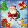 圣诞拼图幼儿和儿童 发现圣诞老人