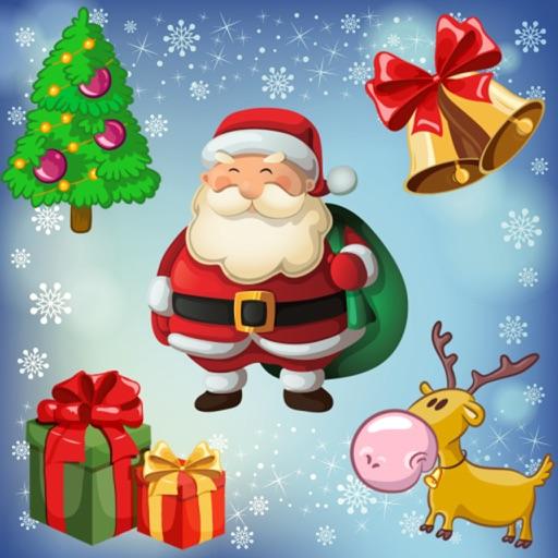 幼児や子供のためのクリスマスのパズル。サンタクロースを発見!教育用パズルゲーム - 子供のためのゲーム - 幼児用パズル - 無料アプリ