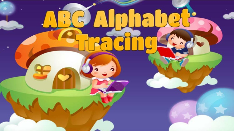 ABC Alphabet Tracing coloring for boy and girl