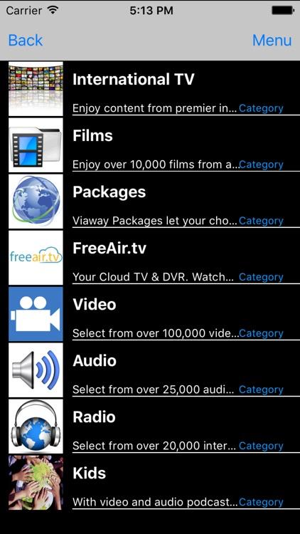 Viaway - International TV, Films, Radio & Video
