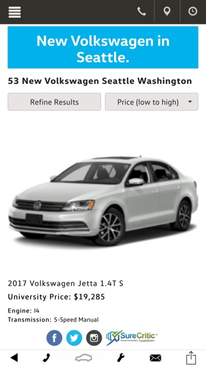 University VW on the App Store
