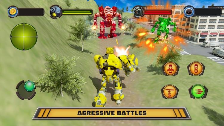 Robot War Car Transformation screenshot-4