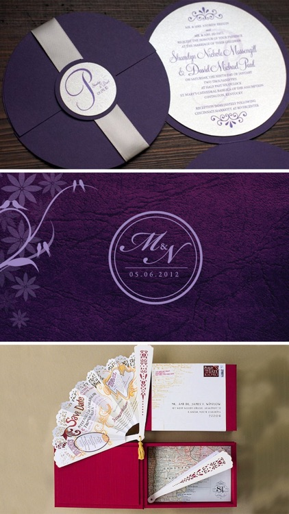 Wedding Card Designs: Cool Invitation Cards Ideas screenshot-3