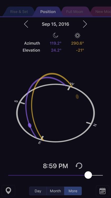 Moon Calendar Pro screenshot-3