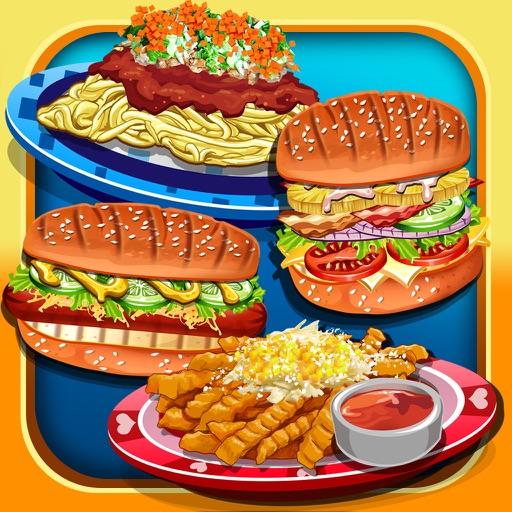 Street Fair Food Cooking Kid Games (Girls & Boys)