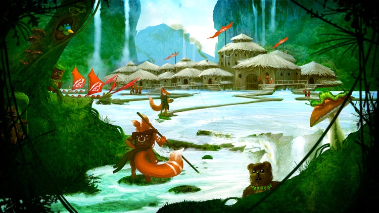 Fox Tales - Story Book for Kids screenshot-3