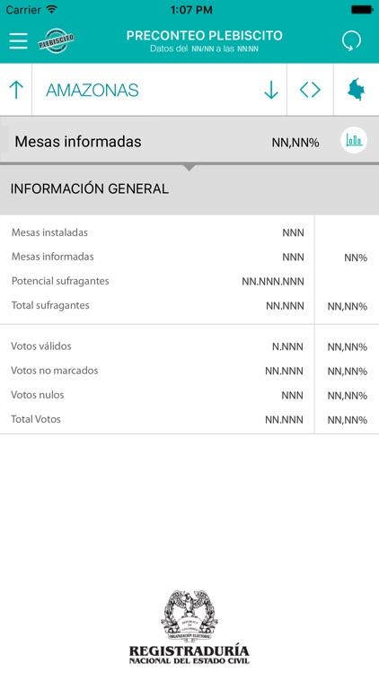 Plebiscito Colombia - 2016 screenshot-3