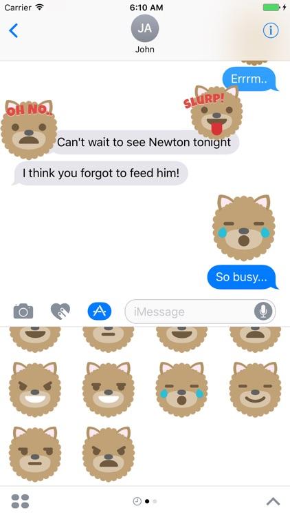 iSticker Friends - Newton screenshot-4