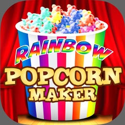 Rainbow Popcorn Maker Pro - Kids Movie Night Snack