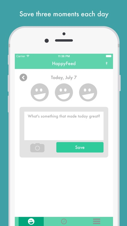 HappyFeed - Gratitude journal