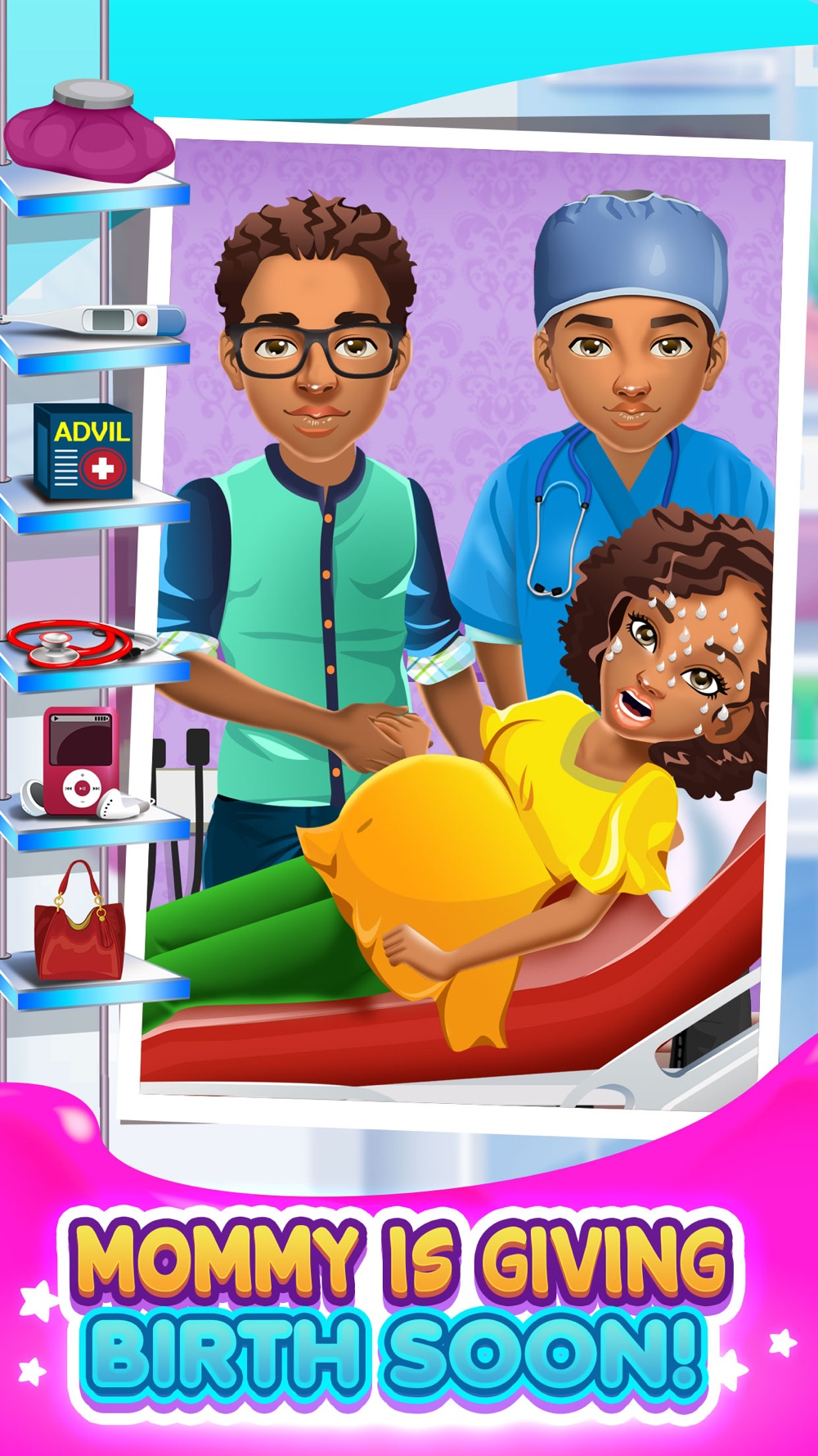 Mommy's New Baby Doctor Salon - Little Hospital Spa & Surgery Simulator Games! hack tool