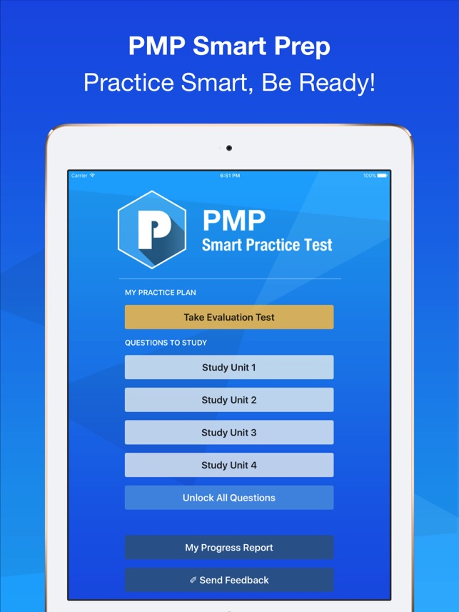 Pmp Smart Exam Prep Practice Test Study On The App Store
