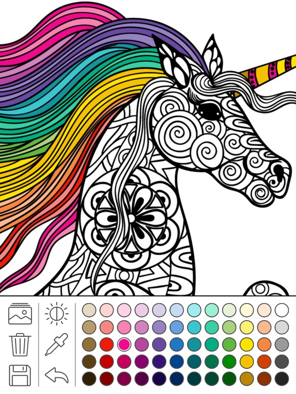 Screenshot 1 For Mindfulness Coloring