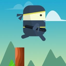 Ninja Sticker Jump