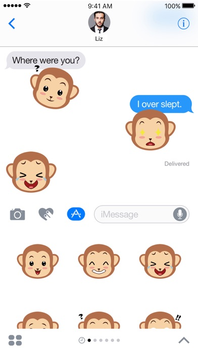 Screenshot #2 for Monkey Expressions