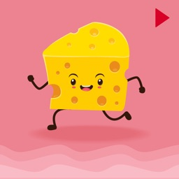 Animated Cheese Love Emoji
