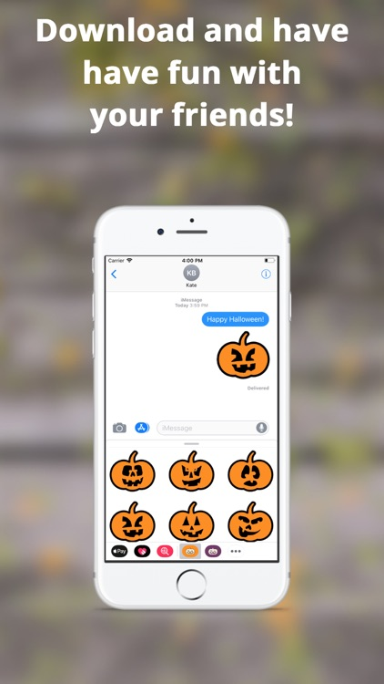 Halloween Stickers, Jack! screenshot-4