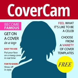 Cover Cam - cover yourself! Cover me photo poster maker