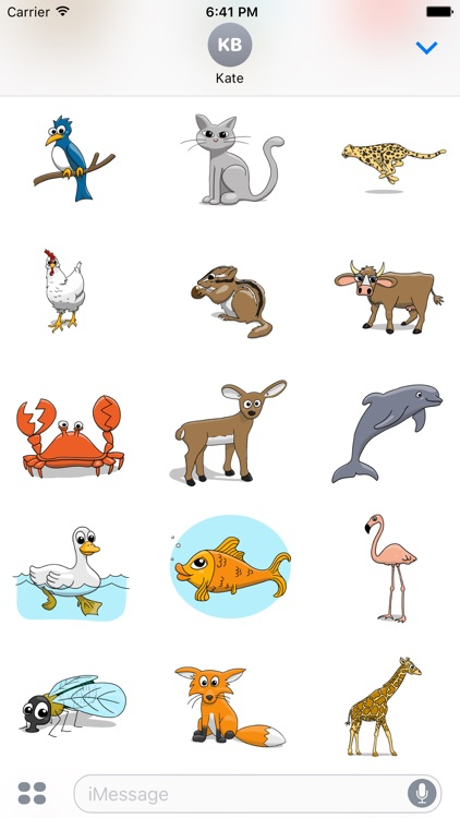 Stickertoons Zoo – Animal stickers for iMessage