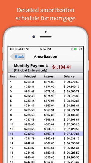 easy mortgages mortgage calculator on the app store