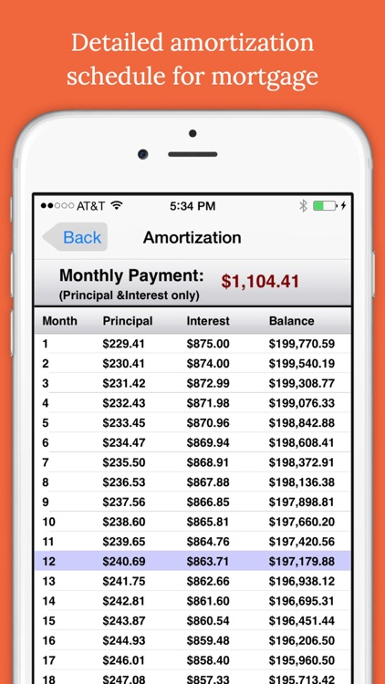 Easy Mortgages ~ Mortgage Calculator screenshot-4