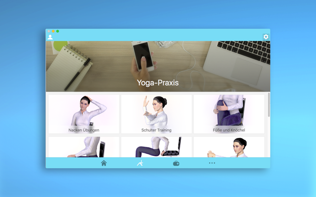 Office Yoga - Fitness at work Screenshot