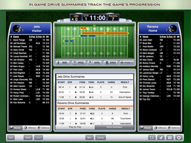 iScore Football Scorekeeper screenshot-3