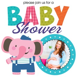 Baby Shower Invitations & Frames