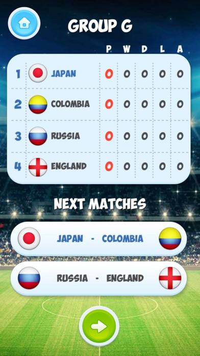 エアホッケー トーナメント - サッカーゲームのスクリーンショット4